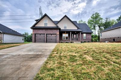 Clarksville Single Family Home Under Contract - Showing: 117 Griffey Estates