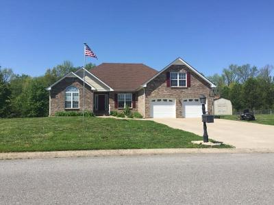 Clarksville Single Family Home For Sale: 4480 Ironhorse Way