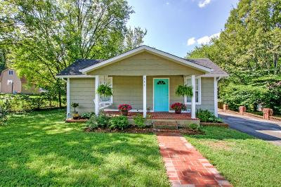 Nashville Single Family Home For Sale: 544 Maplewood Ln