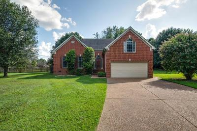Thompsons Station Single Family Home Under Contract - Showing: 2761 Wiltshire Ct