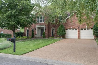 Brentwood TN Single Family Home Under Contract - Showing: $659,900