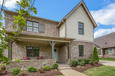 Franklin Single Family Home Under Contract - Showing: 843 Fontwell Lane