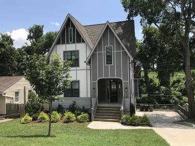 East Nashville Single Family Home For Sale: 1438 Electric Avenue
