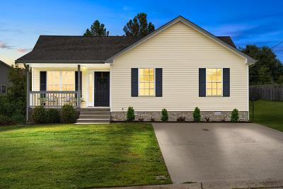 Clarksville Single Family Home Under Contract - Showing: 2862 Rome Lane