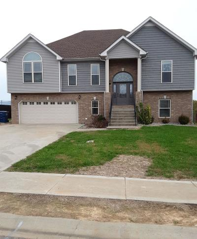Clarksville Single Family Home For Sale: 1704 Winterhaven Ct