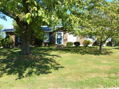Hendersonville Single Family Home Under Contract - Showing: 107 Louann Ln