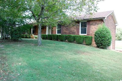 Clarksville Single Family Home For Sale: 247 Rossview Rd