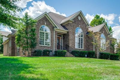 Brentwood TN Single Family Home Under Contract - Showing: $659,000