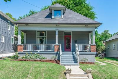 Nashville Single Family Home Under Contract - Not Showing: 1025 Sharpe Ave