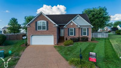 Thompsons Station  Single Family Home Under Contract - Showing: 1107 New Path Ct
