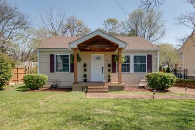 Franklin Single Family Home Under Contract - Showing: 1105 Parkview Dr