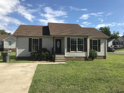 Robertson County Single Family Home For Sale: 771 Shelby Lynn Dr