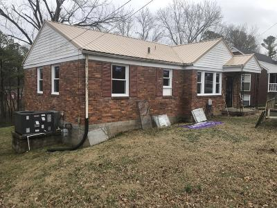 Clarksville Single Family Home For Sale: 1140 Ridgeway Dr.