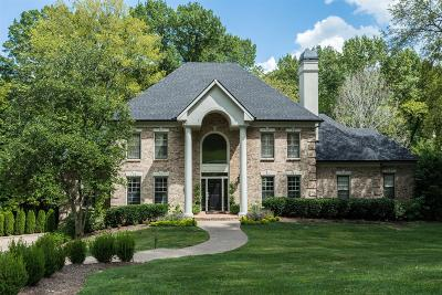 Brentwood Single Family Home For Sale: 920 Calloway Dr