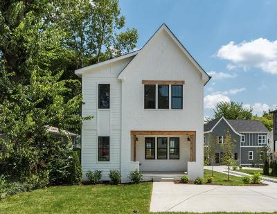 Nashville Single Family Home Under Contract - Not Showing: 2144 A Oakland St