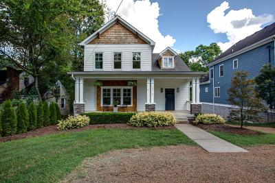 Nashville Single Family Home Under Contract - Showing: 2412 A 9th Ave S