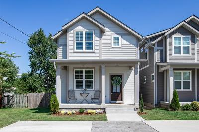 East Nashville Single Family Home Under Contract - Showing: 303 A Urban Place
