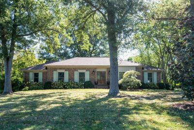 Brentwood, Franklin Single Family Home Under Contract - Showing: 2230 Isaac Ln