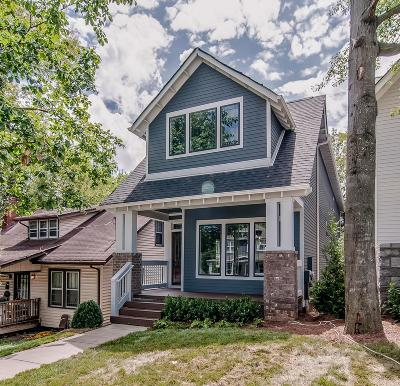 Nashville Single Family Home Under Contract - Showing: 1009 A Caldwell Ave