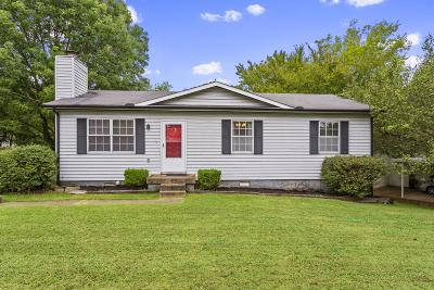 Lavergne Single Family Home Under Contract - Showing: 113 Brookridge Dr