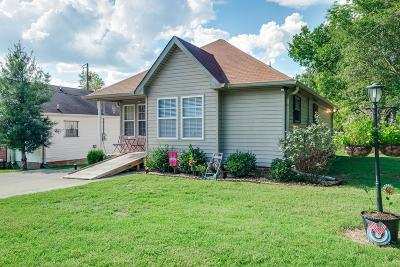 Davidson County Single Family Home Under Contract - Not Showing: 1320 Rock Creek Trce