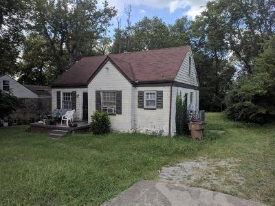 Nashville Single Family Home Under Contract - Not Showing: 1615 Cahal Ave