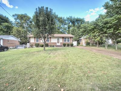 Hendersonville Single Family Home Under Contract - Showing: 117 Cline Ave