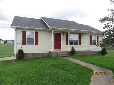 Clarksville Single Family Home Under Contract - Showing: 3748 Hannah Elizabeth Ct