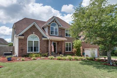 Thompsons Station Single Family Home Under Contract - Showing: 2717 Washington Ln
