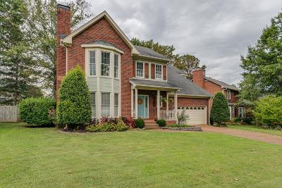 Franklin Single Family Home Under Contract - Showing: 417 N Cardinal Ct