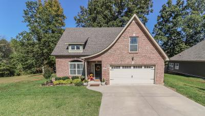 Clarksville Single Family Home For Sale: 1491 Dewberry Rd