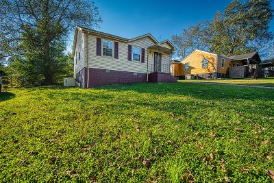 Clarksville Single Family Home Under Contract - Not Showing: 960 E Happy Hollow Dr