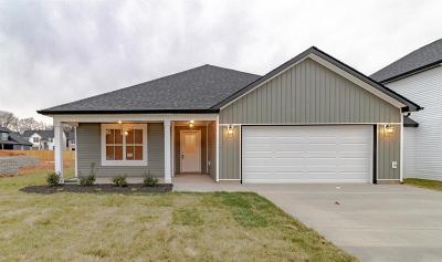 Clarksville TN Single Family Home Under Contract - Not Showing: $191,900