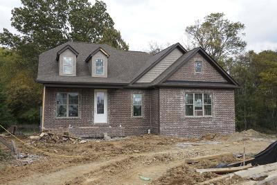 Hendersonville Single Family Home For Sale: 102 Whistler Way Lot 225