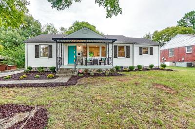 Nashville Single Family Home Under Contract - Showing: 3100 Southlake Dr