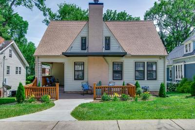 Nashville Single Family Home Under Contract - Showing: 1032 Sharpe Ave