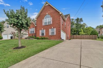 Smyrna Single Family Home For Sale: 3904 Henricks Hill Dr
