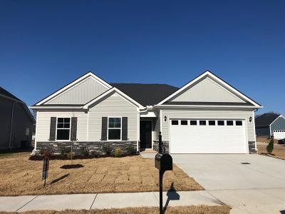 Spring Hill Single Family Home Under Contract - Not Showing: 272 Karis Drive Lot 29