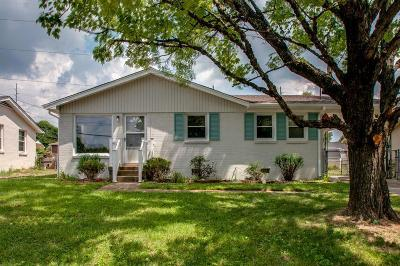 Nashville Single Family Home Under Contract - Showing: 518 Foundry Dr