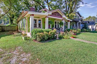Nashville Single Family Home For Sale: 1540 Douglas Ave