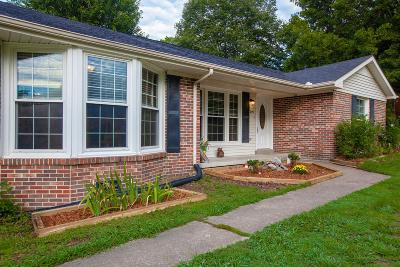 Columbia Single Family Home Under Contract - Not Showing: 205 Osage Trl