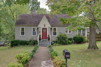 Mount Pleasant Single Family Home Under Contract - Showing: 609 Washington Avenue