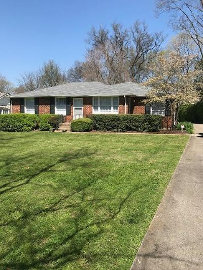 Belle Meade Multi Family Home Under Contract - Not Showing: 280 Harding Place