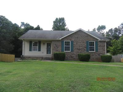 Clarksville Single Family Home Under Contract - Showing: 220 Centennial Dr