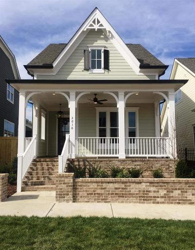 Williamson County Single Family Home Under Contract - Not Showing: 2018 Erwin Street # 1968