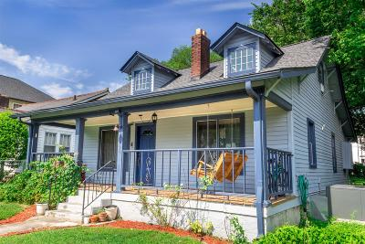 Nashville Single Family Home For Sale: 1218 N 6th Street