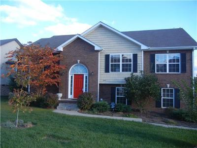 Clarksville Single Family Home For Sale: 3491 Cayuse Way