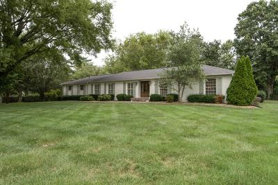 Brentwood  Single Family Home For Sale: 5102 Cornwall Dr