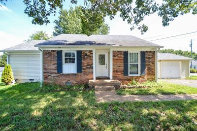 Mount Juliet Single Family Home Under Contract - Showing: 1531 Stone Hill Rd