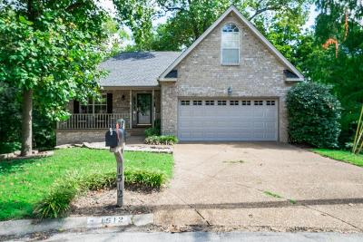 Nashville Single Family Home For Sale: 1512 Roundhill Ct